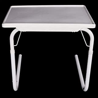 Z Folding Table Sofa Side Table TV Tray with Tablet Couch Console Lapdesk  