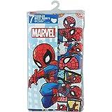 Marvel スパイダーマン 男の子 コットン100% 前開き ブリーフ 7枚セット 110cm / 4T [並行輸入品]