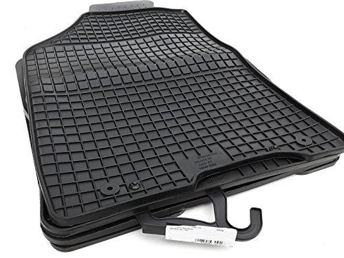 kh Teile 58010 Gummimatten passend für S2 RS2 (B4) 80 schwarz 4-teilig
