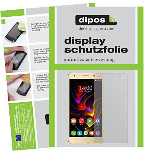 dipos I 6X Schutzfolie matt kompatibel mit Oukitel C5 Pro Folie Bildschirmschutzfolie