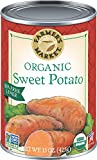 Farm fresh, sweet potato puree Rich, smooth and nutritious Not only does our organic sweet potato puree make a wonderful vegetable side or main dish, its natural sweetness lends itself to a wide variety of delicious recipes. Try sweet potato pancakes...