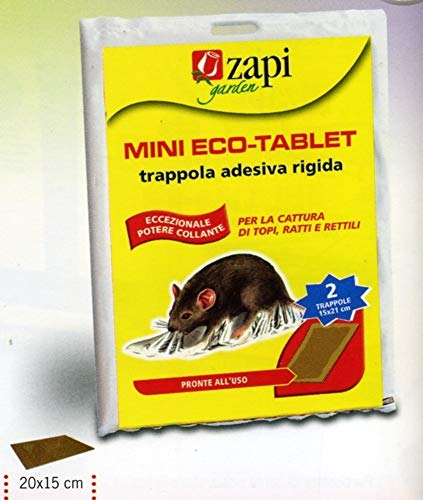 MINI ECO-TABLET TRAPPOLA ADESIVA PER TOPI