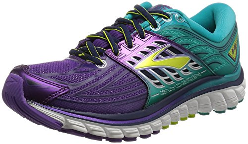 Brooks Glycerin 14, Chaussures de Course Femme, Multicolore (Pansy/Ceramic/Lime Punch), 36 EU