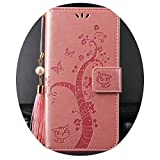 Embossing for iPhone 11 12 Pro 6 6S 7 8 Plus X XR XS Max Se Case Wallet Leather Flip Stand Fashion...