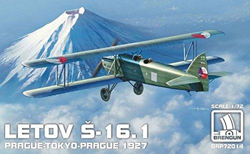 BRENGUN 1/72 レトフ S-16.1 プラハー東京-プラハ 1927 HAUBRP72014 プラモデル