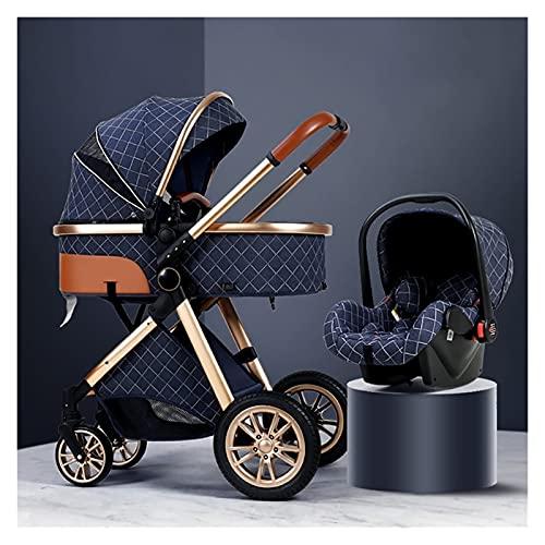 Silla de paseo ligera y compacta,cochecito de port 3 en 1 cochecitos infantiles, transporte de bebé portátil, cochecitos de cochecito de altiba plegable, implementación bidireccional, ruedas de amorti