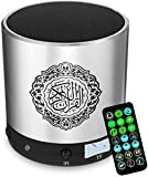 Raxinbang Compra Fácil Portátil Altavoces del Corán Corán Jugador- Wireless Tarjeta Árabe Altavoz Bluetooth con Soporte Digital Corán Traducción, Que Seleccione Su Idioma Nativo For Entender Corán Si