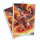 Keara Hayes - Fire Mage - 100 Matte Card Sleeves (FN12S)