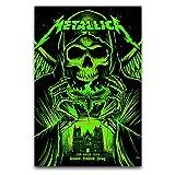 WPQL Brandon Heart Metallica Trondheim Druck