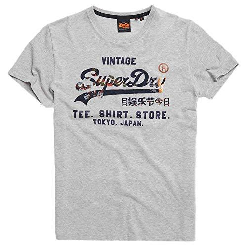 Superdry Heren Vl Infill T_Shirt Store Tee