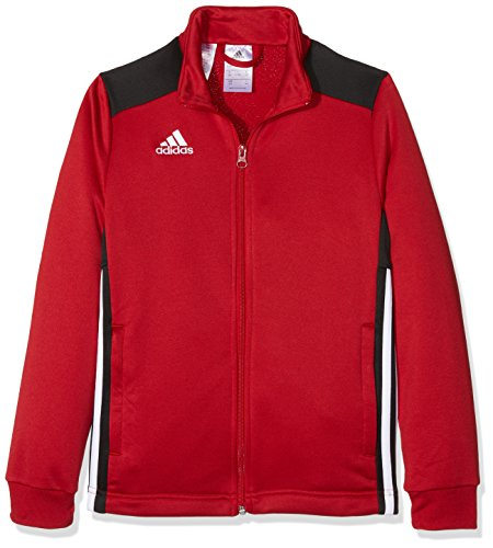 adidas Kinder REGI18 PES JKTY Sport Jacket, Power red/Black, 1112