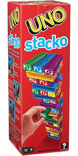 Jogo Uno Stacko, 43535, Mattel Games Mattel Multicolorido