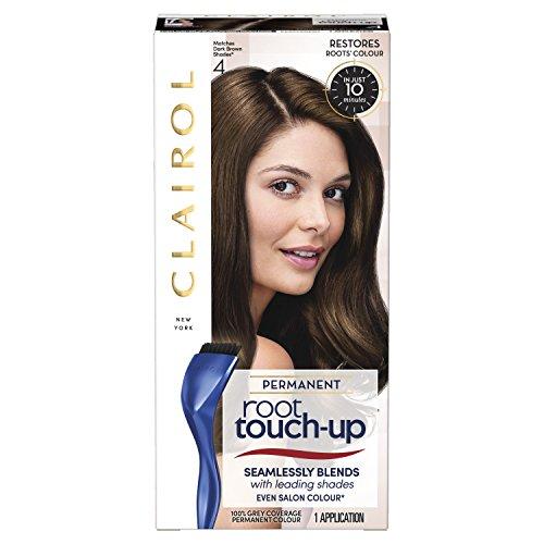 Clairol Root Touch Up Permanente Haarfarbe 4 dunkelbraun