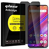 Anbzsign [2 Pack] BLU G90 Pro Privacy Screen Protector, Anti-Spy 9H Hardness Tempered Glass