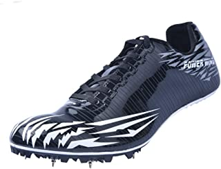 Mens Womens Track and Field Shoes Jumping Distance Cleats Sneakers Spikes Racing Shoes Athletics Youth