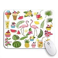 可愛いマウスパッド ネイビー絞りインディゴブルーネクタイ染料パターン水彩バティックノンスリップラバーバッキングコンピュータマウスパッド用ノートマウスマット