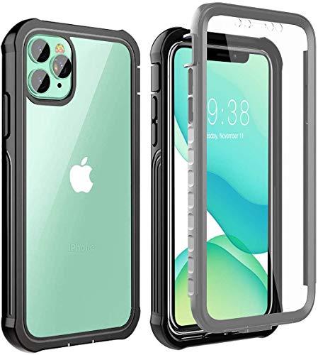 Cover iPhone 11 PRO,Custodia iPhone 11 PRO [Thin Fit 360] Caso Protezione esatta Slim con Proteggi Schermo Hard PC Custodia Antiurto Cover per iPhone 11 PRO 5.8 2019