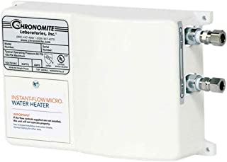 Chronomite M-30L/120 HTR 110F 120-Volt 30-Amp Instant-Flow Micro Low Flow Tankless Water Heater, 110-Degree Preset