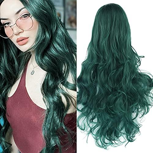 pelucas verde mujer on line