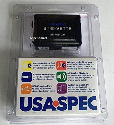 الولايات المتحدة الأمريكية المواصفات BT45-VETTE بلوتوث الموسيقى