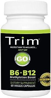 Sponsored Ad - Trim Nutrition B6 B12 Methylation Boost - Safe & Effective, Supports Balanced neurotransmission and Healthy...