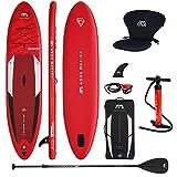 Aqua Marina 2021 Planche de stand up paddle gonflable Aquamarina Monster 2021 Pack complet 366 x 84 x 15 cm avec sicge kayak