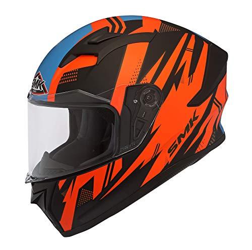 SMK Helmets Men's MA275 Trek Graphics Pinlock Fitted Full Face Helmet with...