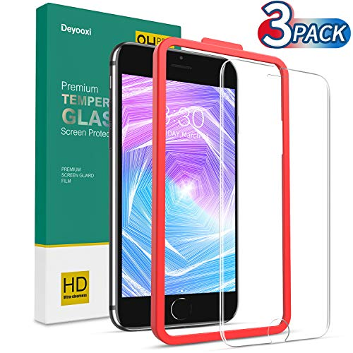9H Dureza Alta Definicion Sin Burbujas 1 Piezas Premium Cristal Vidrio Templado FCLTech iPhone 7 Plus//iPhone 8 Plus Protector de Pantalla