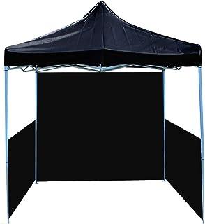 Cablematic - Carpa plegable 250x250cm negra con fondo y laterales