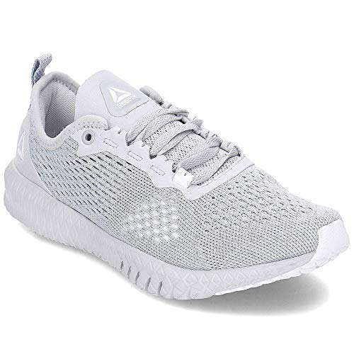Reebok Damen Flexagon Multisport Indoor Schuhe, Mehrfarbig (Cold Grey/White 000), 38 EU