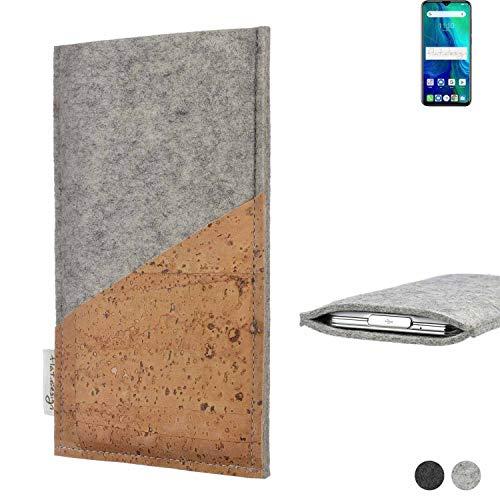 flat.design Handy Hülle Evora für Ulefone Power 6 Schutz Tasche Kartenfach Kork passexakt handgefertigt fair