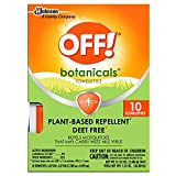 Off Deep Woods Insect Repellent Wipes Towelettes   Best Deet Formula   Safely Repel Flying Insects Bugs Gnats Mosquitoes   Great for Outdoor Indoor Use   36 Count Value Pack   Individually Wrapped