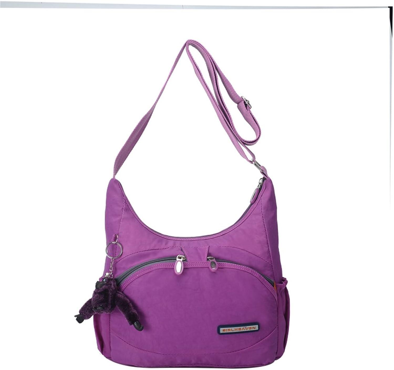 Damen Umhängetasche Diagonale Pauschalreisen Leichte Umhängetasche Einzelne Schulter rucksack-B B06WD18PF2  Sorgfältig gefertigt