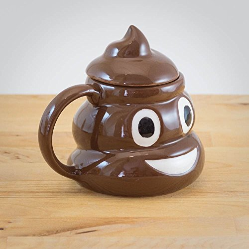 The Source Wholesale Emoticon Poo Tasse, Keramik, Nicht zutreffend
