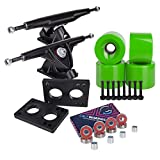 Best Wheels For Longboards - Cal 7 Longboard Skateboard Combo Package with 70mm Review