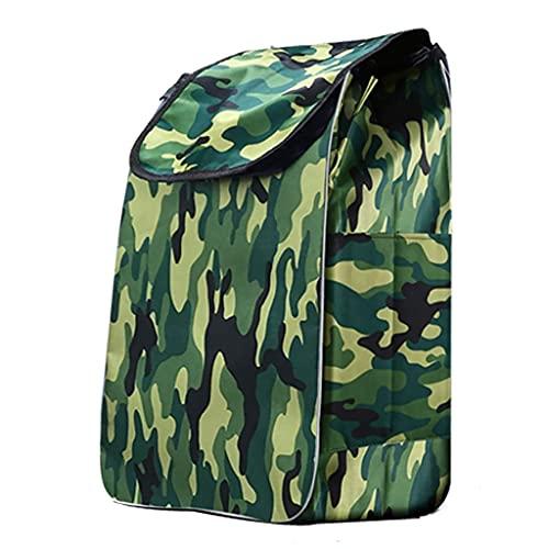 WYZXR Einkaufswagentasche,Einkaufswagen Ersatztasche,wasserdichte Faltbare Einkaufstasche Oxford Stoff Aufbewahrungstasche Einkaufswagen Spezialtasche (Größe: 33 x 22 x 55cm) (Farbe: G)
