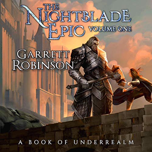 The Nightblade Epic audiobook cover art