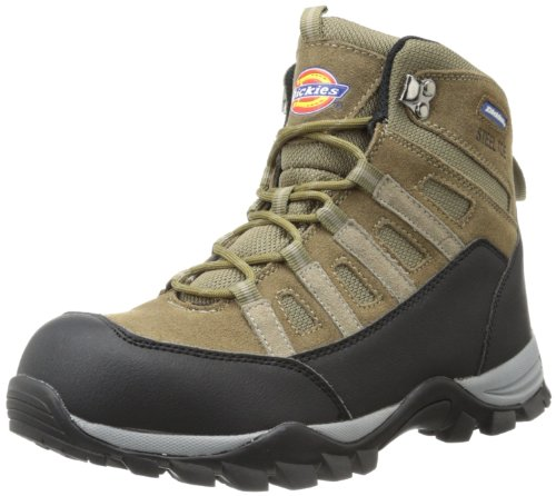 Dickies Men's Escape Hiker 6 Inch Steel-Toe Work Boot,Brown,10 M US
