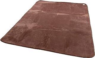 mofua ( モフア ) ラグ うっとりなめらかパフ 低反発 185×185cm ( 約2畳 ) ブラウン 55863606