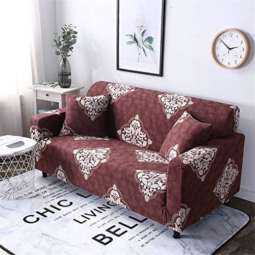 Yunchengyunxiangtong Stretch Couch Vollständiger Satz von Sofa Kissenbezug Sofa Handtuch Universal-Stretch-Sofa-Abdeckung (Size : Double)