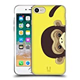 Head Case Designs Mono Animales de espiar Carcasa de Gel de Silicona Compatible con Apple iPhone 7 / iPhone 8 / iPhone...