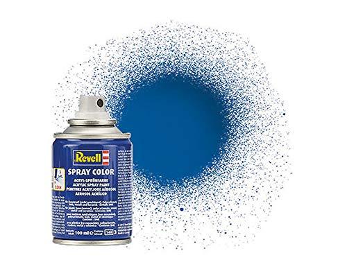 Revell 34152 Spraydose blau, glänzend Spray Color, Farben in der praktischen 100-ml-Sprühdose