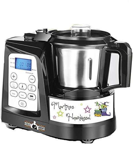 wodtke-werbetechnik keukenmachine sticker heksenketel heks groene naam voor Calli