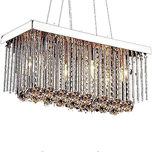 Kroonluchter kroonluchter huishouden slaapkamer startskant lampen verlichting LED-kristallen lampen groothandel 6-licht 50 * 25 * 30cm hangend licht