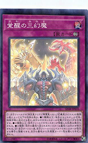 遊戯王 SD38-JP035 覚醒の三幻魔 (日本語版 ノーマルパラレル) STRUCTURE DECK - 混沌の三幻魔 -