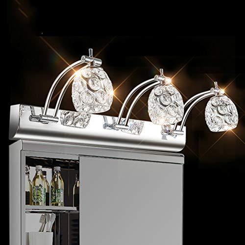 Wandleuchte Led Spiegelschrank Lampe 9W Drei Lichter Badezimmerspiegelleuchte Wasserdichte SpiegelleuchteSchranklampe