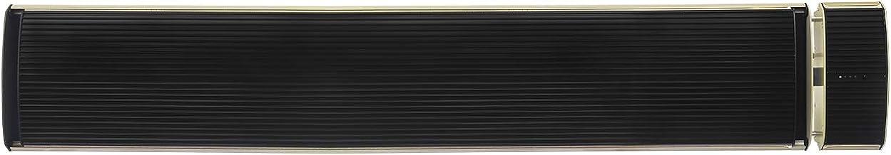 M Confort Hh-Pc1800R Panel Radiante Calefactor con Regulacion de Calor, 450-1800 Watts, 110 x 19 x 7 cm