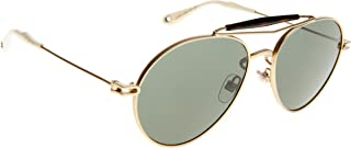 Givenchy Women's 7012/S Semi Matte Gold/Gray Green
