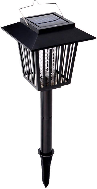 DYR Weiß \u0026 Uv führte Solarlicht-wiederaufladbare Moskito-Mrder-Lampen-Rasen-Licht-Insekten-Ttungs-Laterne im Freien für Garten-Bauernhof
