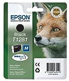 Epson Cartucho T1281 negro - Cartucho de tinta para impresoras (Negro, 5,9 ml, Epson Stylus Office BX305F Epson Stylus Office BX305FW Epson Stylus Office BX305FW Plus, Ampolla)